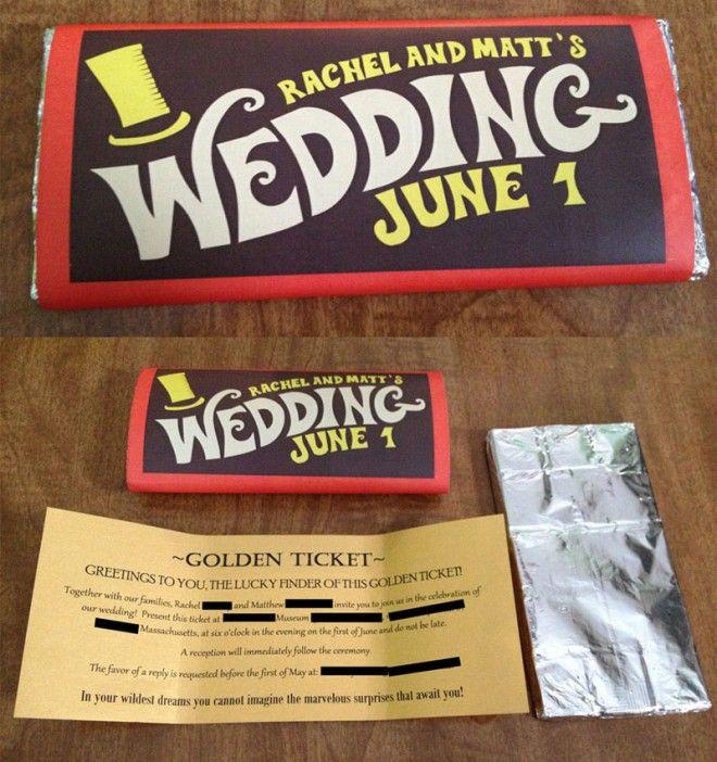 25 Creative and unusual Wedding Invitation Card Design Ideas