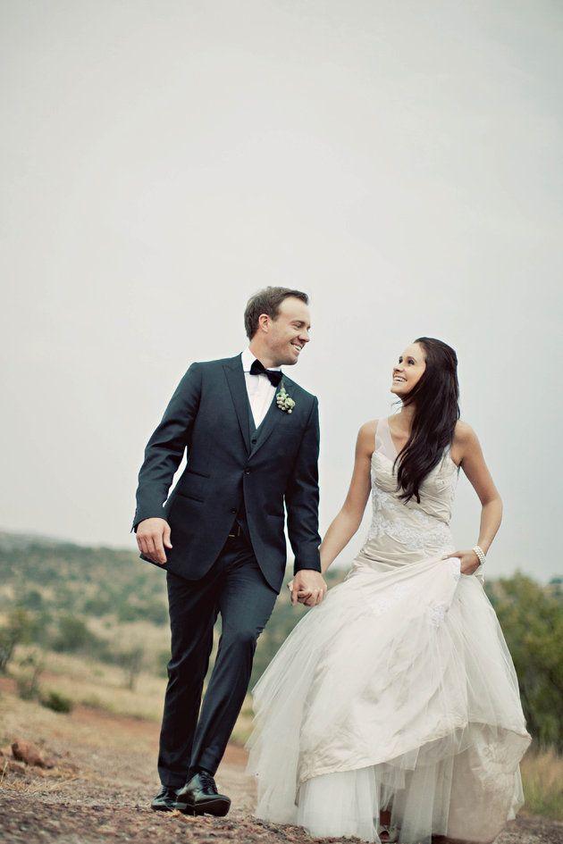 Ab De Villiers En Danielle Se Troudag Foto S Tyme Photography