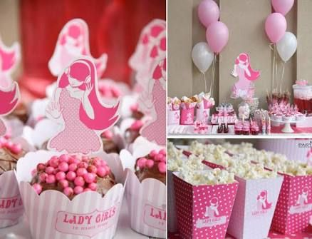 teenage party ideas pink - Google Search