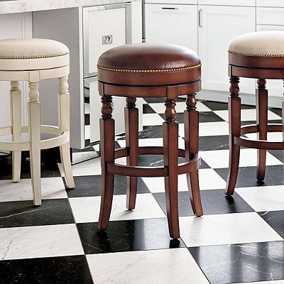 Fabulous Olivia Swivel Backless Bar Height Bar Stool 30H Seat Gmtry Best Dining Table And Chair Ideas Images Gmtryco