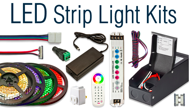 How To Install Led Strip Lights Under Counter