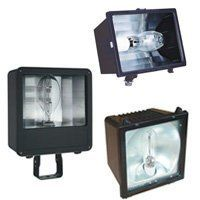 Lithonia Lighting HID Source Floodlight Commercial Flood Light, by Lithonia Lighting. $84.30. Finish:Dark Bronze, Light Bulb:(1)150w ED17 Med HPS  Flood Light   Designed for commercial or residential signs, entry monuments or facades.  Rugged, die-cast aluminum housing constructed for maximum heat dissipation. Die-cast aluminum door frames.  Tempered glass lens with high temperature gasket to inhibit entrance of contaminants.  Micro and small floodlights featu...