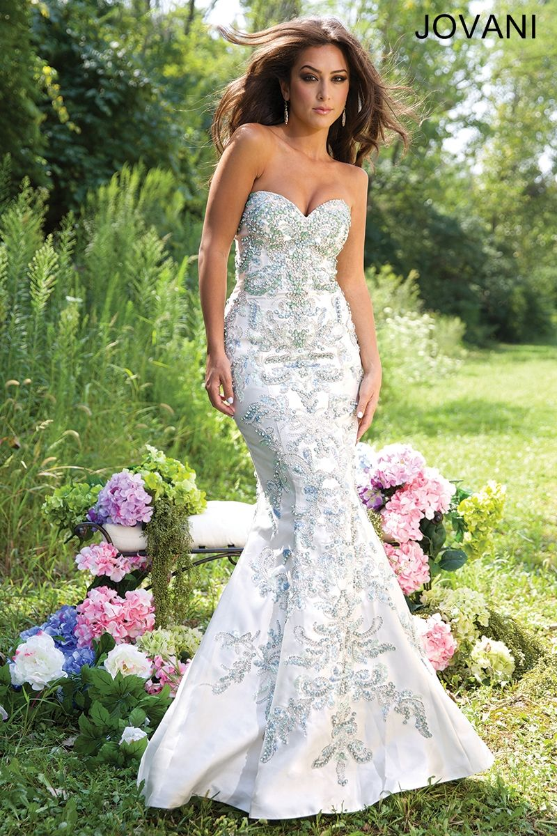 Jovani Prom 2015 available at CC\'s Boutique in Tampa http://www ...