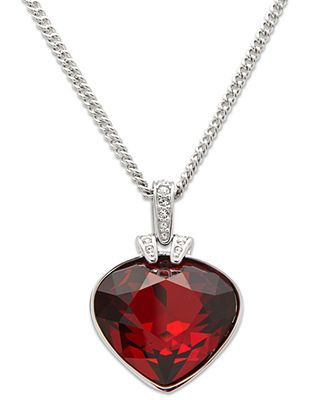 Swarovski necklace oceanic red crystal pendant swarovski pinterest swarovski necklace oceanic red crystal pendant jewelry watches macys mozeypictures Image collections