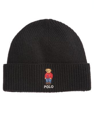 4d3b40e30 Polo Ralph Lauren Ski Bear Pom-Knit Cuffed Beanie | macys.com | Polo ...