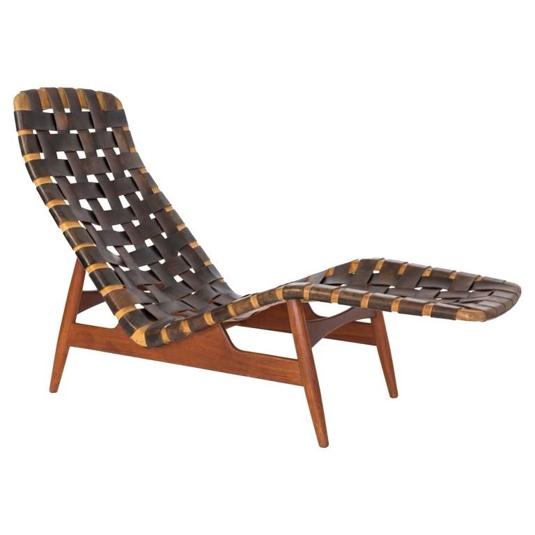 Arne Vodder Chaise Longue For Bovirke Circa 1950 For Sale At