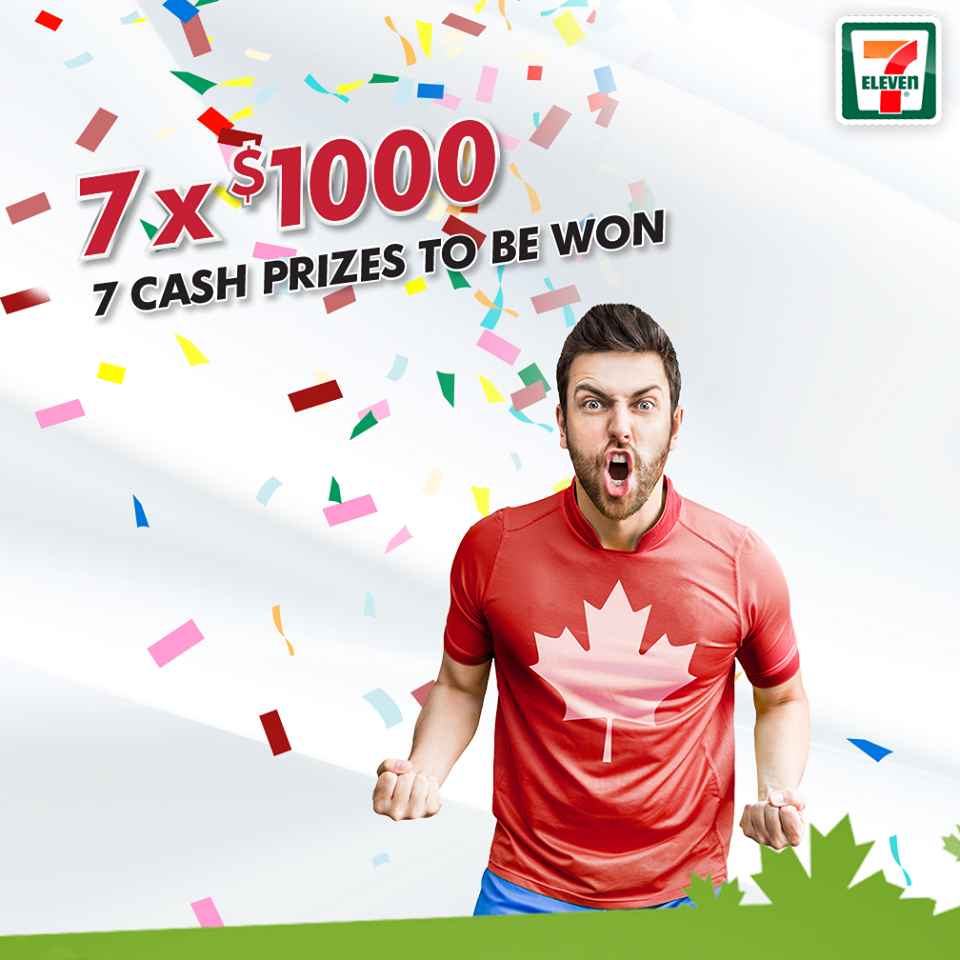 Scan your drinks with the 7 Eleven 7rewards.ca