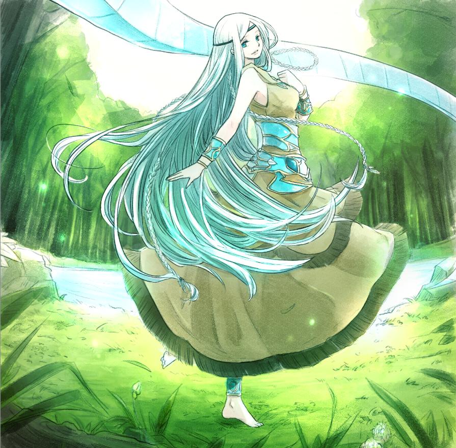 Maiden With Eyes Of Blue Aka Kisara Dibujos Me Duele