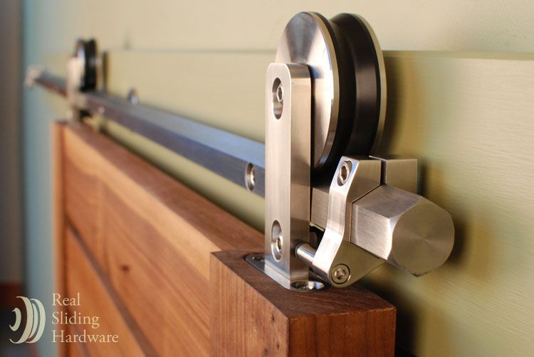 Hex Bar Modern Sliding Hardware Kit Hardware Barn Door