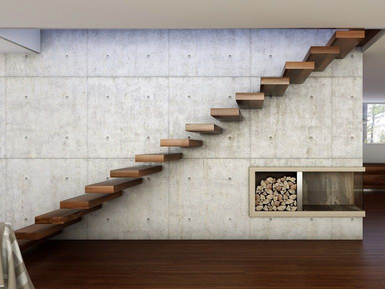 Porta Treppen wooden cantilevered staircase 800 by interbau suedtirol treppen