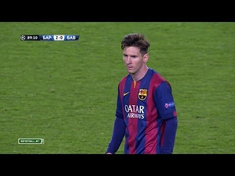 Lionel Messi Vs Bayern Munich Home 14 15 Hd 1080i By Sagimbaevvideo