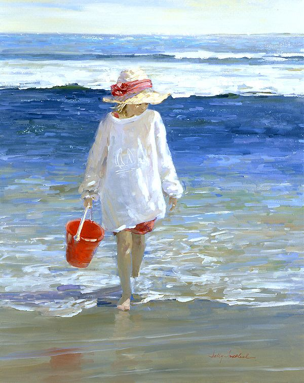 Sally Swatland  'Morning Surf'