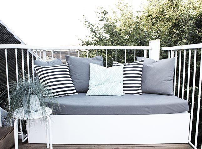 unser balkon: das making of! plus: von mir höchst selbst erprobte, Garten ideen