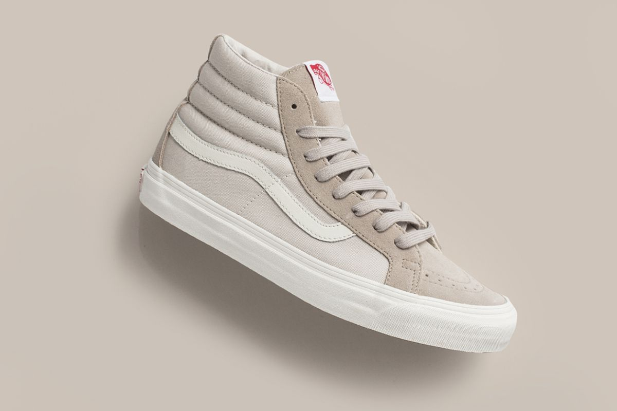 Vans Vault Og Sk8 Hi Lx In Suede Canvas For February Vans