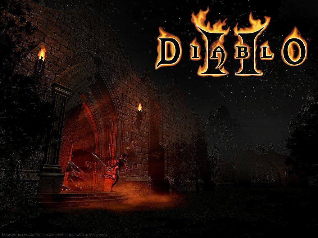 Adventure strategy games diablo ii diablo diablo ii - Diablo 2 lord of destruction wallpaper ...