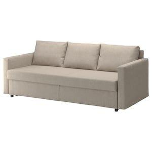 Holmsund Sleeper Sofa Orrsta Light White Gray In 2020 Sleeper
