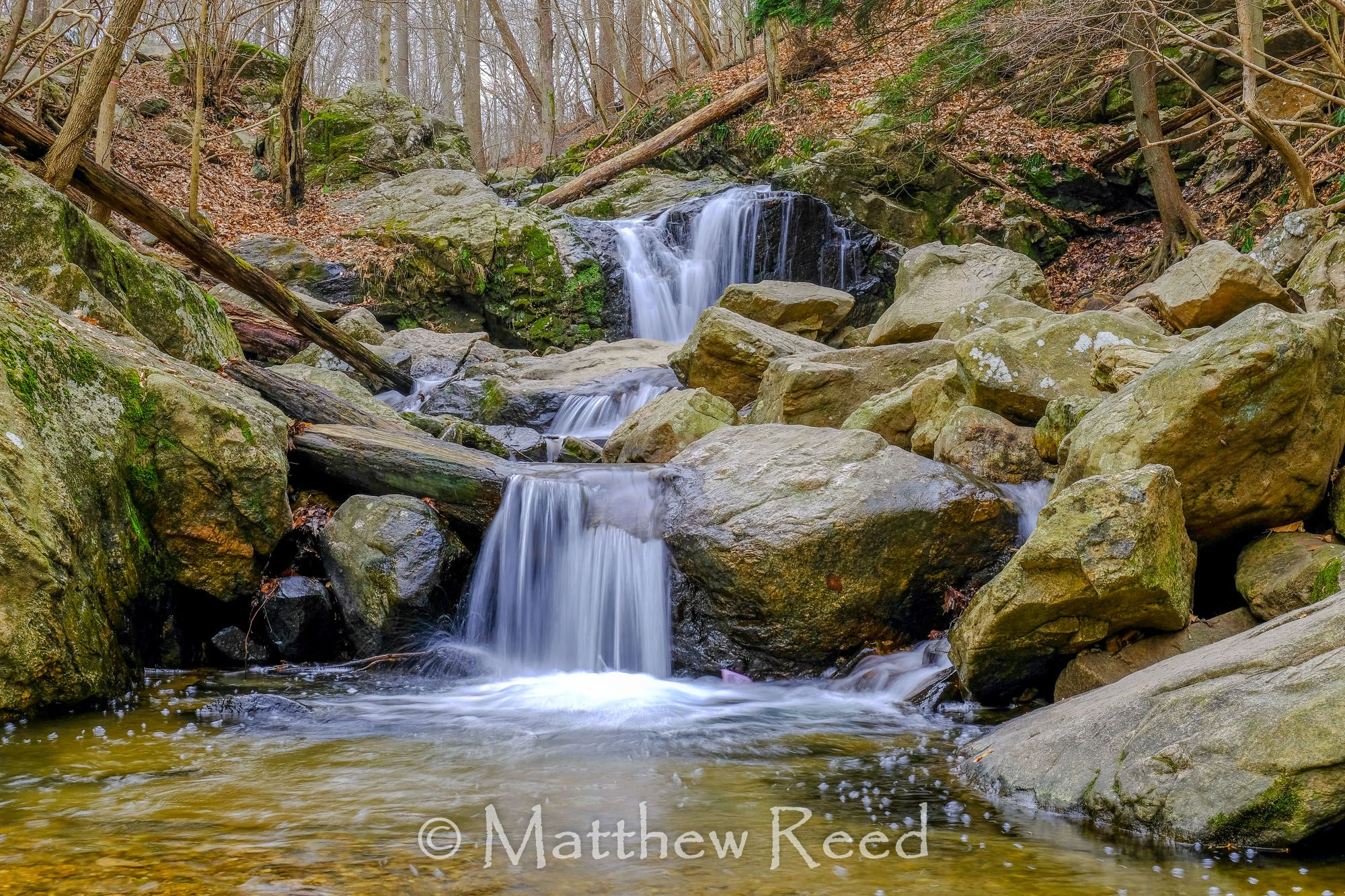 Cascade Falls, MD Waterfall photography, Waterfall