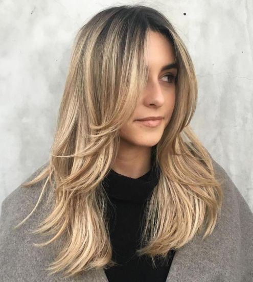 50 Cute and Effortless Long Layered Haircuts with