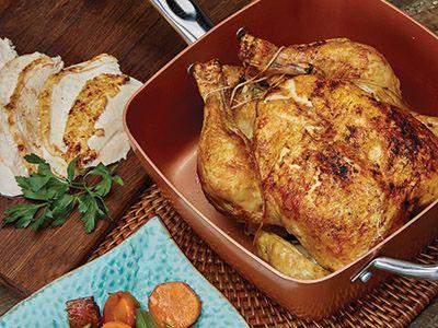 Roast Chicken In The Copper Chef Pan Recipes Copper