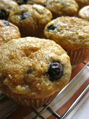 Triple B Muffins Recipe Snack Recipes Banana Blueberry Muffins Food 52
