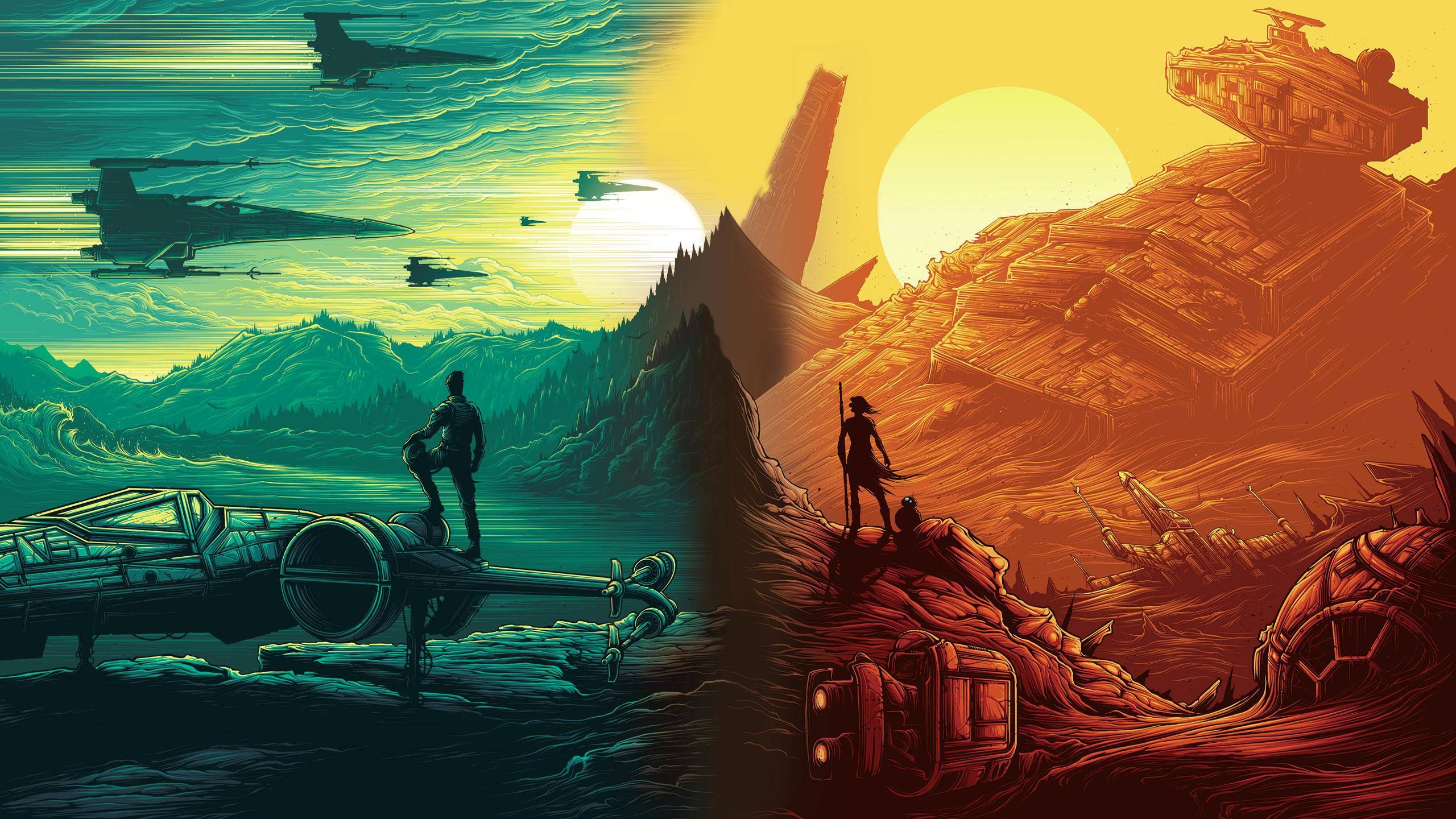 Dan Mumford Awesome Post Star Wars Pictures Star Wars Wallpaper Star Wars Episode Vii