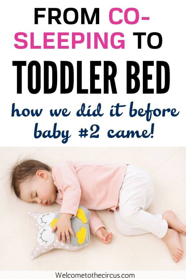 How We Gently Transitioned Our Co-Sleeping Toddler to Her ...