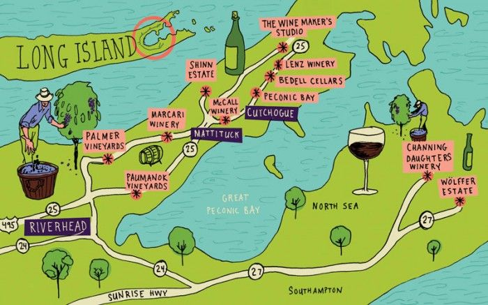 long island wineries the first mercial vineyard was planted in