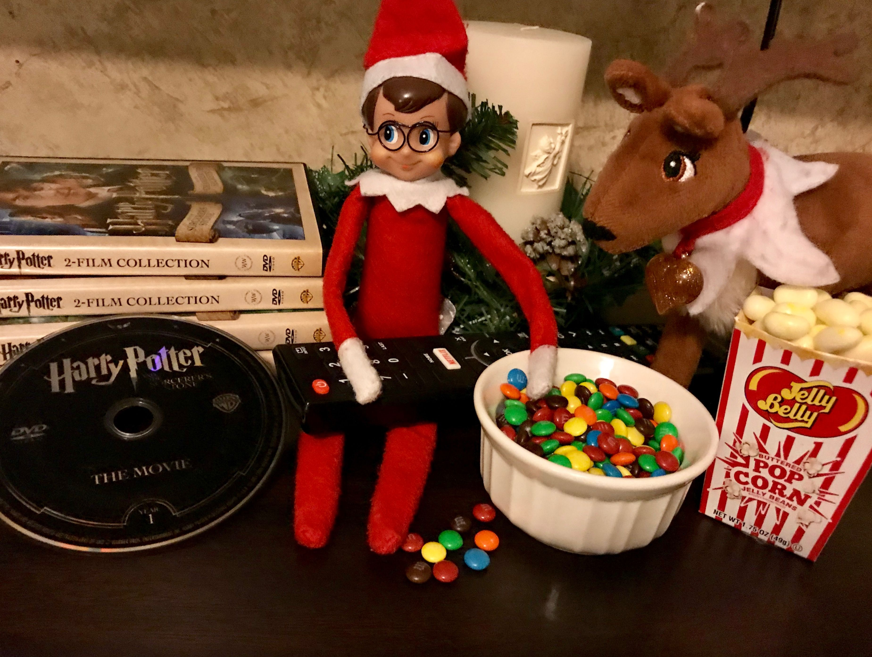 Pin By Alina McMillan On Our Harry Potter Elf The Shelf