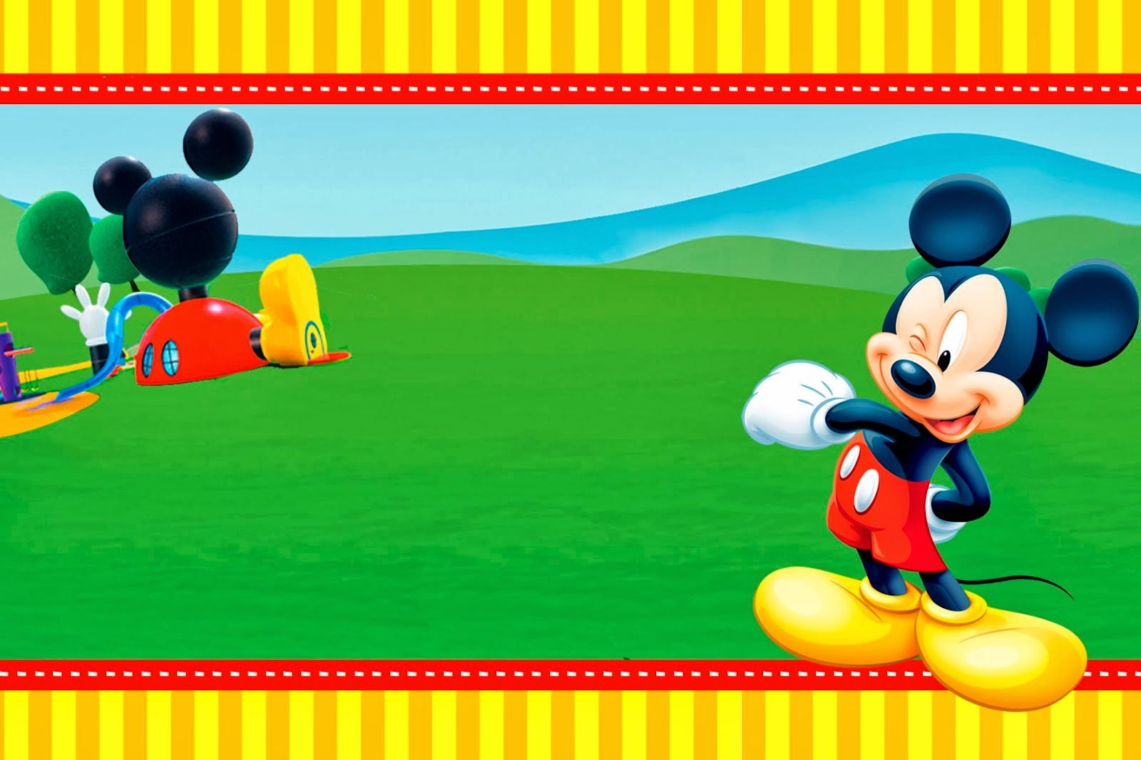 Mickey clubhouse invitations and party free printables benny boo mickey clubhouse invitations and party free printables filmwisefo