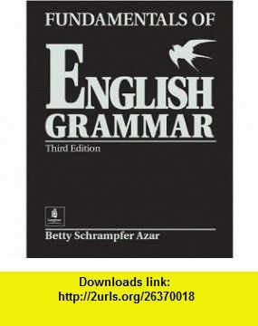 Fundamentals Of English Grammar Black Student Book Full Without