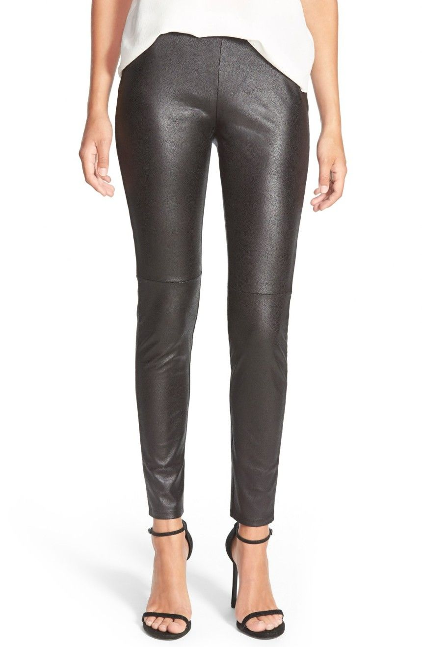 943746698ccaf3 Main Image - Trouvé Faux Leather Leggings | Style | Leather Leggings ...