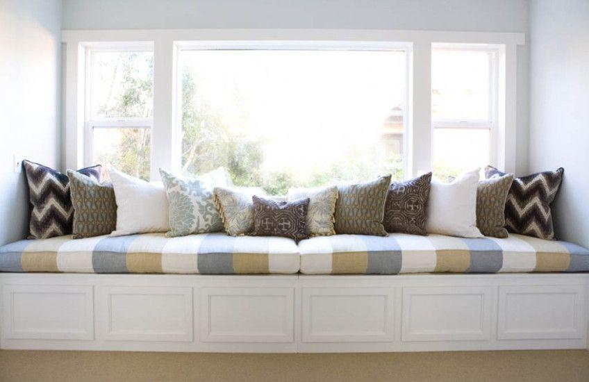 Cozy Long Window Bench Bedroom Window Seat Built In Window Seat Window Seat Cushions