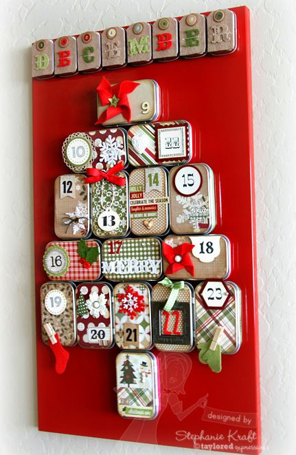 How She Transforms An Altoid Tin Left Me Amazed And The Message Left Inside Is Perfect Christmas Advent Calendar Christmas Diy Christmas Advent