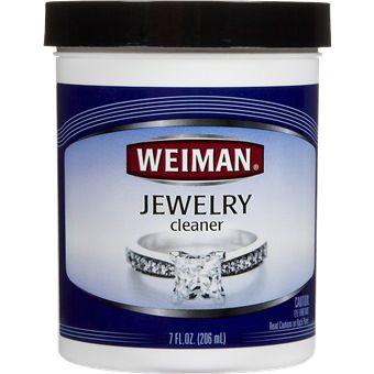 Weiman Jewellery Cleaner 207ml Wm2306 Silver Jewelry Cleaner Jewelry Cleaner Recipes Body Jewelry Shop
