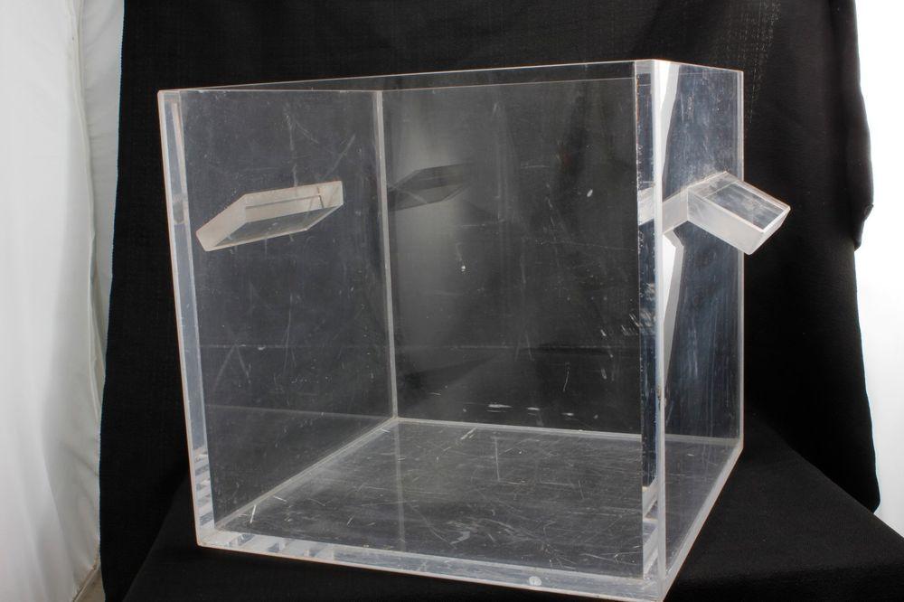 Acrylic Plexiglas Laboratory 1 Square Cubic Foot Box Unbrandedgeneric Cubic Foot Ebay Store Home Decor