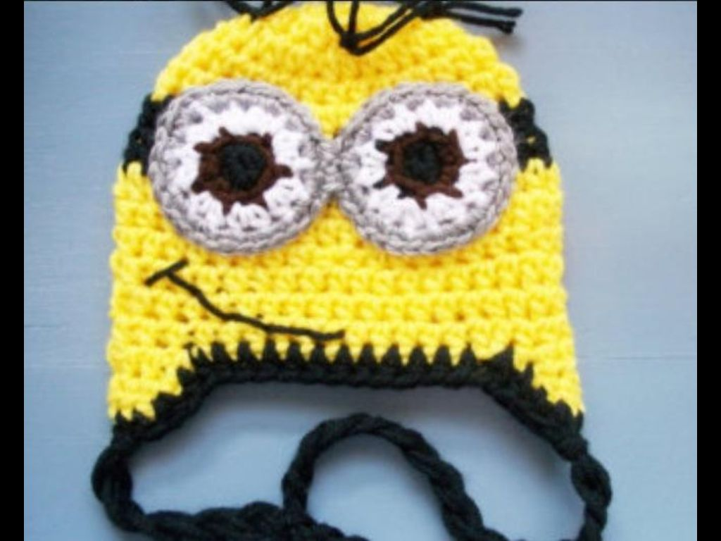 Despicable me tuque isn\'t this the cutest thing ever | MINIONS ...