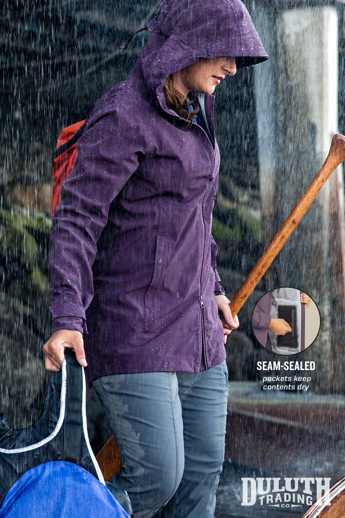 Waterproof And Breathable Raincoats Keep You Dry In A