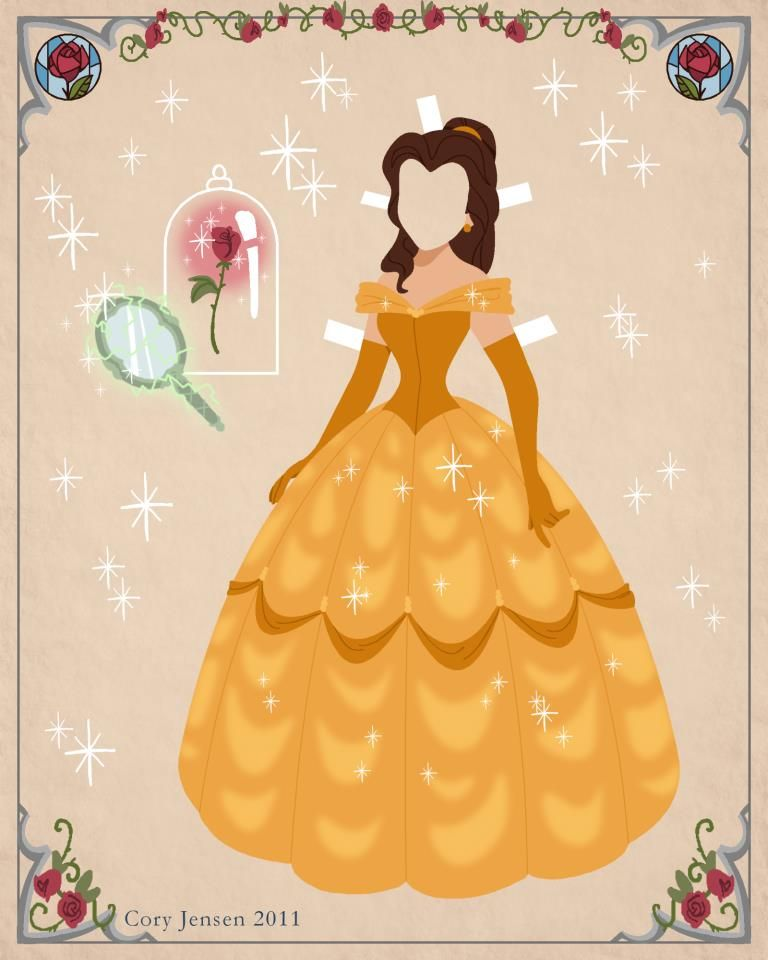 belle paper doll disneys beauty and the beast printables coloring pages and activities princess - Disney Princess Art And Activity Collection