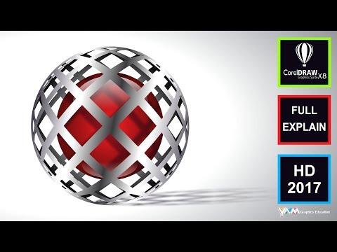 Best 3D Logo Design CorelDraw X8Tutorial YouTube in 2020