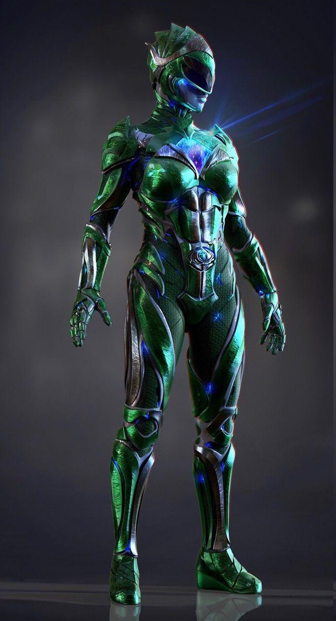 Green Ranger Rita Power Rangers Power Rangers Movie Green Ranger
