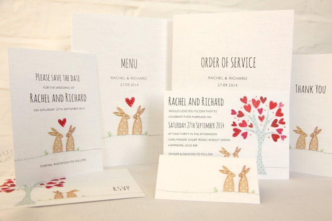 wedding invitation graphic rabbit - Szukaj w Google | wesele ...