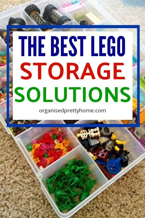 The Best Way To Store Lego Lego storage Kidsroom and Lego