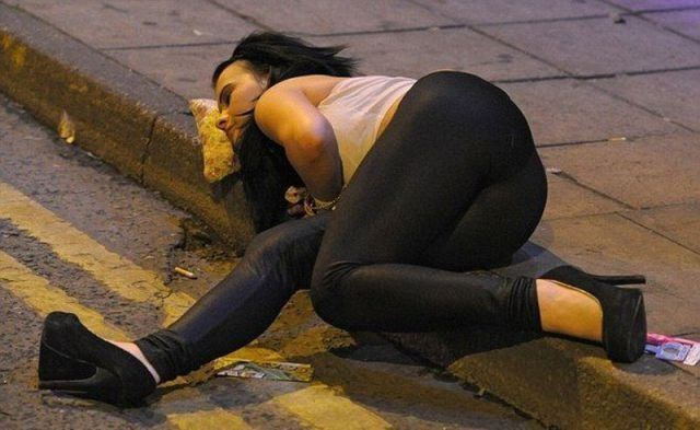 Black Drunk Girl