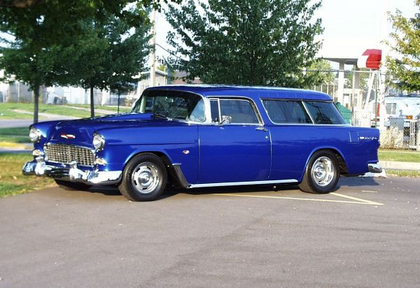 1955 Chevrolet Bel Air Nomad Station Wagon Barrett Jackson