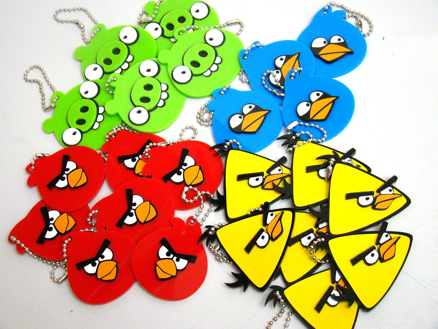 Chaveiros Personalizado Angry Birds