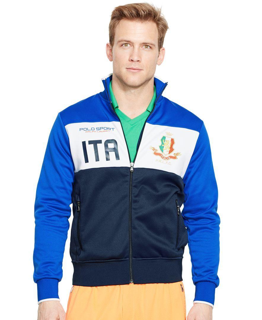 Italia Ralph Tech Lauren Fleece JacketMy Track Polo Tastes In W92HIYED