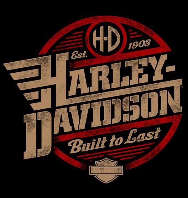 Harley-Davidson Illustrations | Harley davidson, Design inspiration