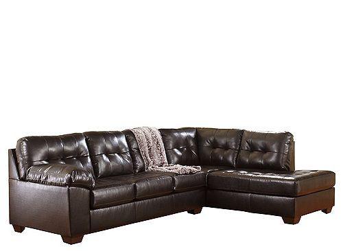 This Pratt 2 Piece Sectional Sofa Features Durablend Reg