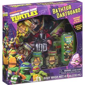 Nickelodeon Teenage Mutant Ninja Turtles Bathtub Dartboard Bath Gift Set, 7  Pc