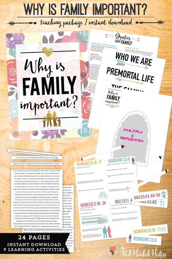 Why Is Family Important 9 Incredible Learning Activities That Help